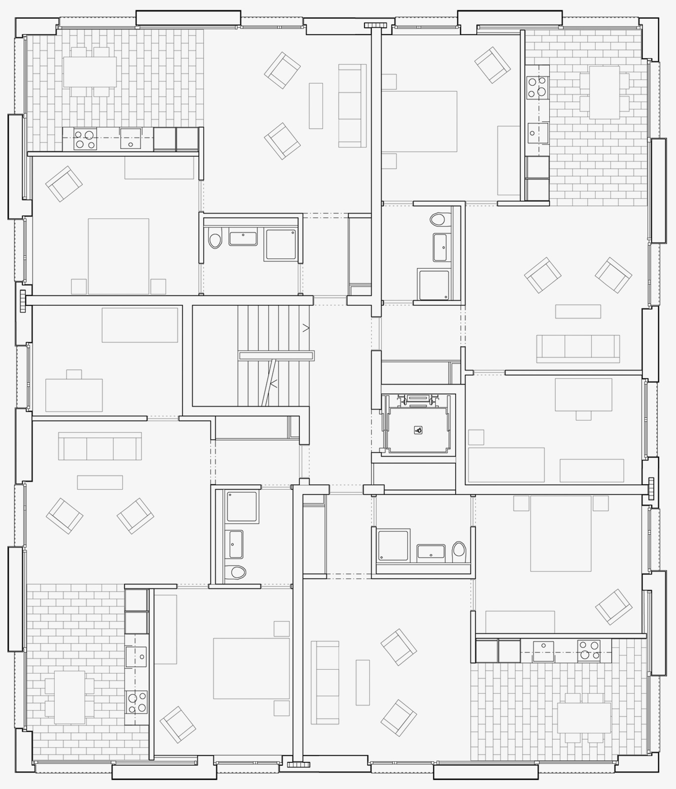 Grundriss Prototyp Fur Affordable Housing Haus Adimora