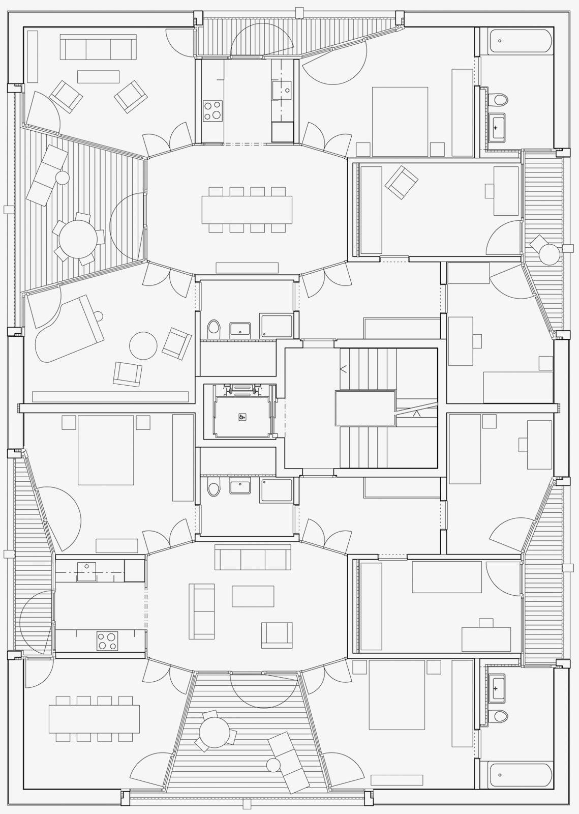Préférence Apartment Buildings Schönberg-Ost, Berne | Esch Sintzel Architekten CZ84